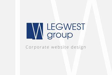 "Разработка сайта ""LEGWEST group"""
